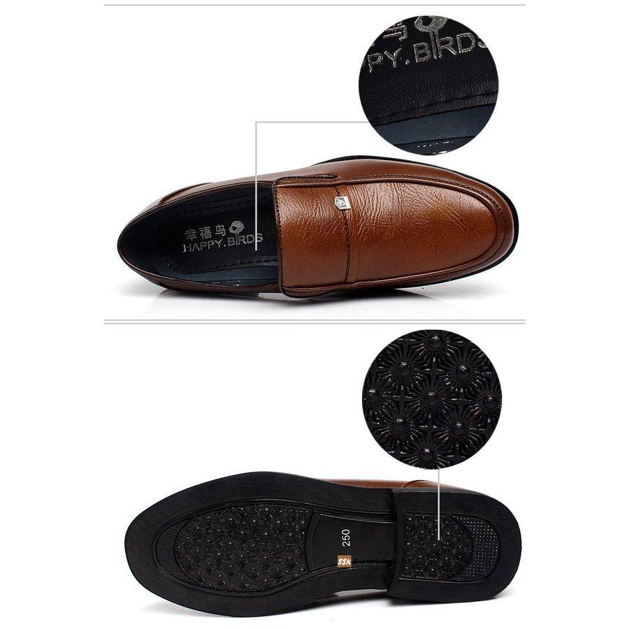 革靴 ローファー ビジネスシューズ 防滑ソール メンズ 紳士靴 革靴 ローファー ビジネスシューズ 防滑ソール メンズ 歩きやすい 疲れない
