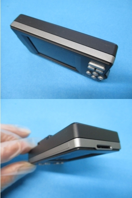 ユピテル Super Cat GPSレーダー探知機【 PGRO1si 】2.2型IPS オールイン ワンボディ Yupiteru スーパーキャット SDカード欠品 中古品_画像7