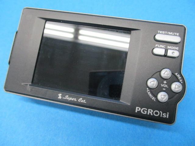 ユピテル Super Cat GPSレーダー探知機【 PGRO1si 】2.2型IPS オールイン ワンボディ Yupiteru スーパーキャット SDカード欠品 中古品_画像4