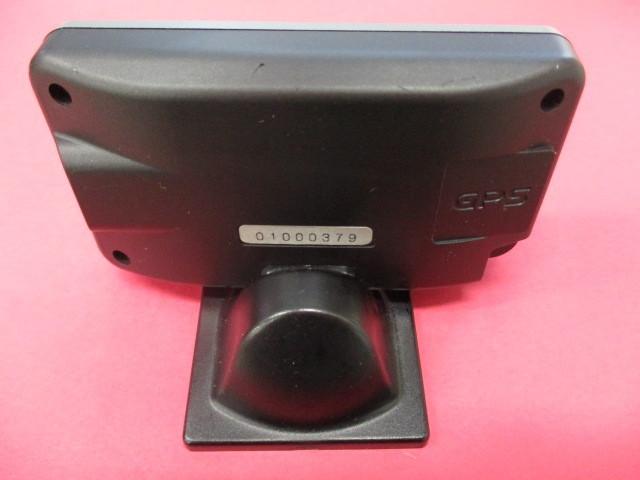 ユピテル GPSレーダー探知機 Super Cat 【 RSR20sd 】2.4型液晶 VPS 2Dロードイメージマップ リモコン欠品 SDカード付 中古_画像6