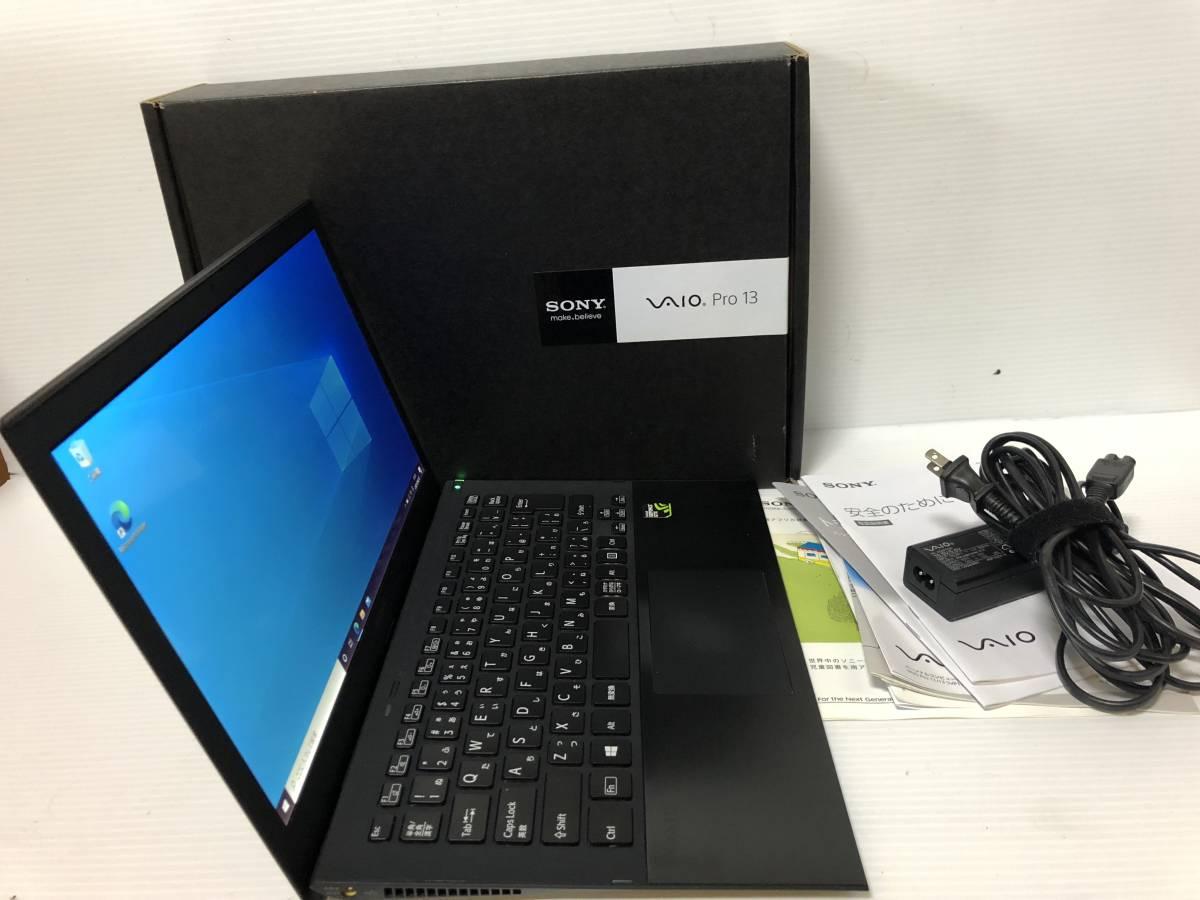 Sony VAIO SVP132A1CN Core i5-4200U RAM 4GB SSD 256GB カメラ HDMI Windows10 office_画像3