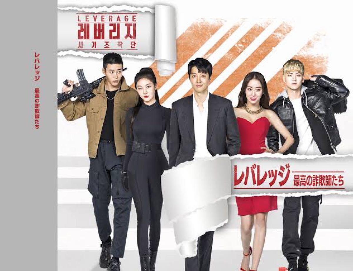 韓国ドラマ レバレッジ DVD『レーベル印刷有り』
