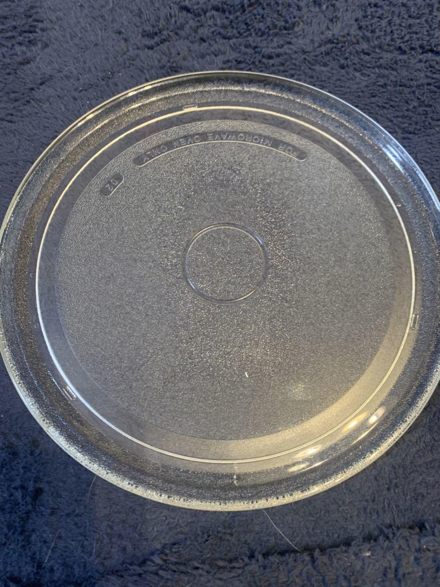 電子レンジ ガラス ターンテーブル用丸皿 27cm 電子レンジ ス