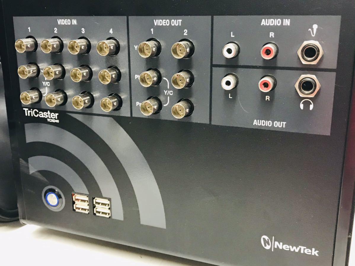 現状品 NewTek TriCaster 40 TCXD40 トライキャスター PC映像作成 配信機_画像1