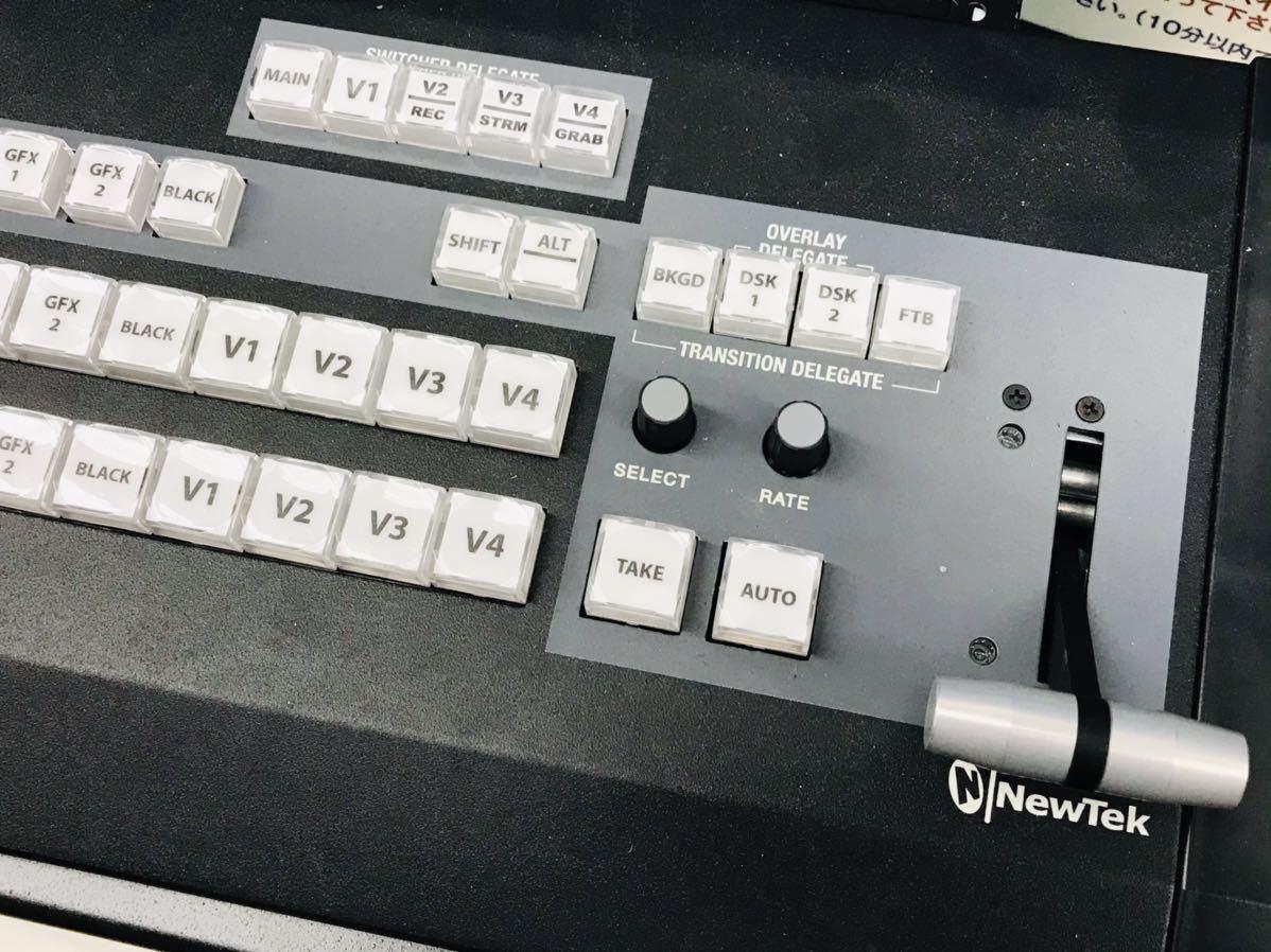 現状品 NewTek TriCaster 40 TCXD40 トライキャスター PC映像作成 配信機_画像3