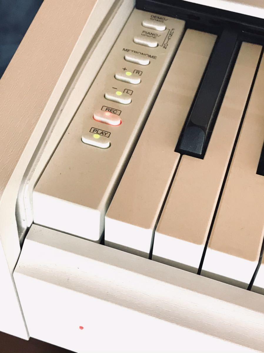 新品電源アダプター付 美品 YAMAHA YDP-143 ARIUS 電子ピアノ ヤマハ アリウス 17年製 純正イス付 直接引き取り歓迎 川崎市宮前区_画像6