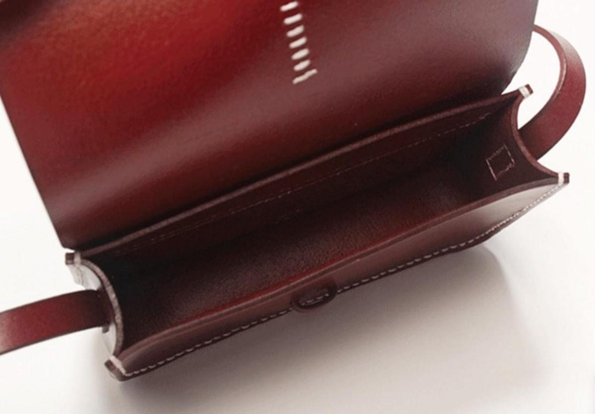 ショルダーバック レザークラフト用アクリル型 型紙セット