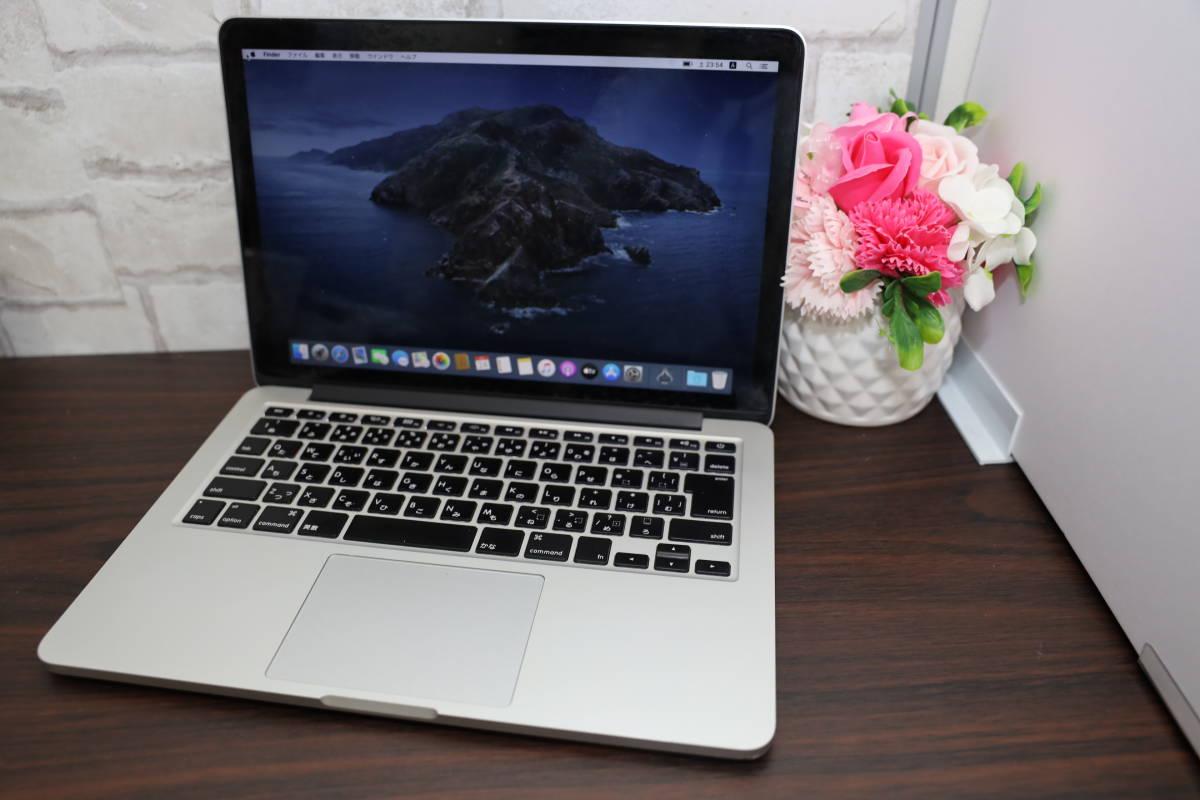 MacBook Pro (Retina, 13-inch, Mid 2014) MGX92J/A macOS Catalina 高性能Core i5-2.8G