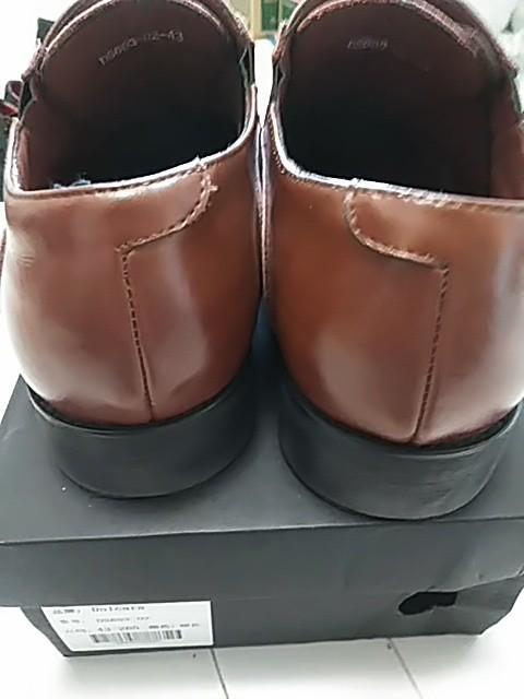 メンズビジネスシューズ 内羽根 柔らかい革 やわらかい革 濃茶 本革製 本革靴 ストレートチップ 茶色 茶系 赤茶色 26.5cm