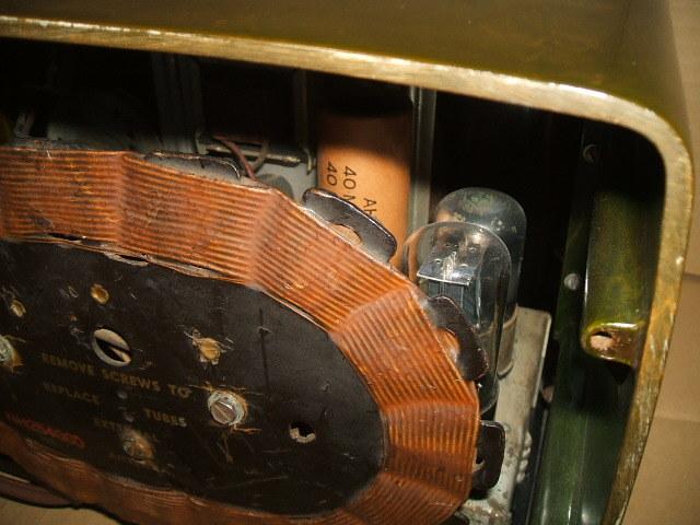 カタリンラジオ BENDIX CATALIN TABLE RADIO MODEL 526 1946年_画像8