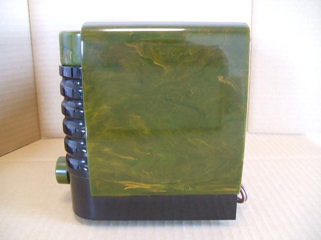カタリンラジオ BENDIX CATALIN TABLE RADIO MODEL 526 1946年_画像2