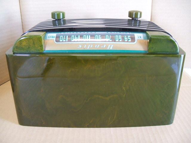 カタリンラジオ BENDIX CATALIN TABLE RADIO MODEL 526 1946年_画像4