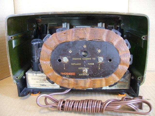 カタリンラジオ BENDIX CATALIN TABLE RADIO MODEL 526 1946年_画像6