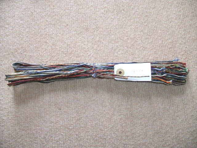 在庫処分 WESTERN ELECTRIC WAX付き22GAエナメル単線 約1.6mX20本 その2_画像1