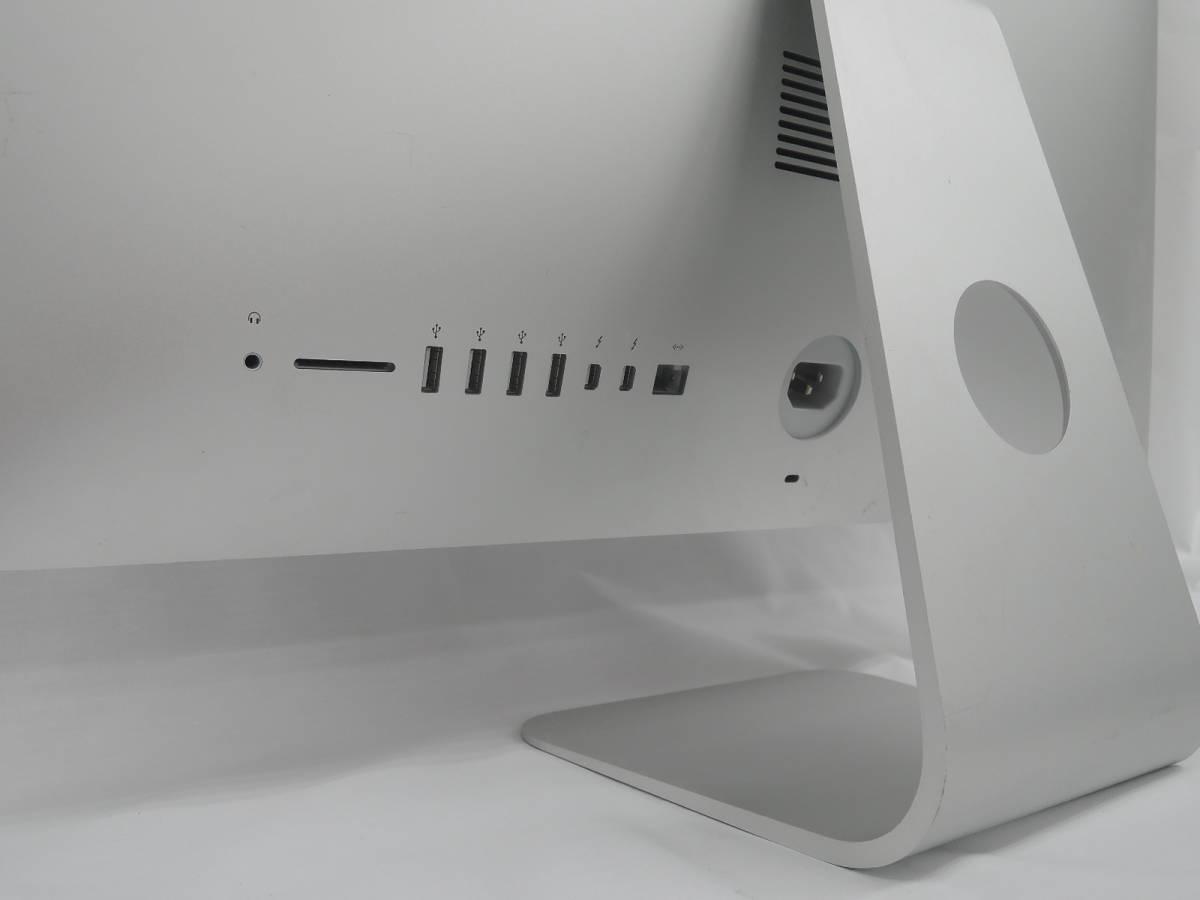[ST705]中古 Apple iMac A1418 21.5inch Late2015 Core-i5 2.80Ghz 16GB 1TB mac OS X El Capitan 10.11.6 現状販売_画像6