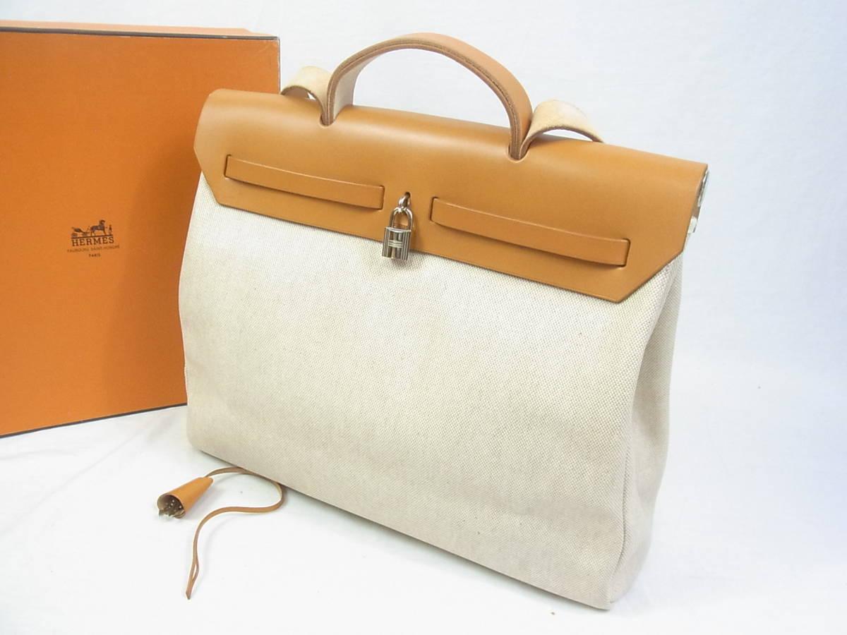 ■■エルメス★エールバッグ B刻印 新品同様極上美品■■_画像3