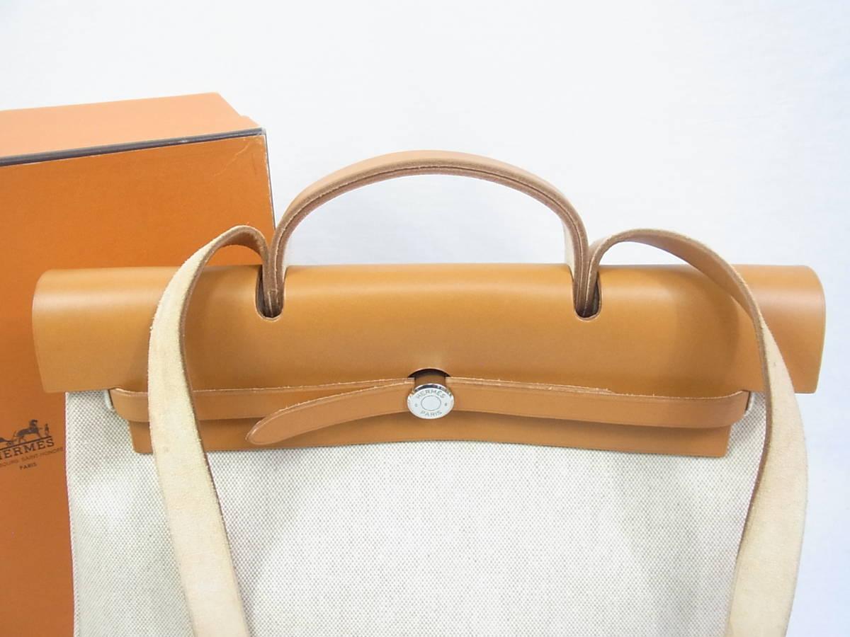■■エルメス★エールバッグ B刻印 新品同様極上美品■■_画像2