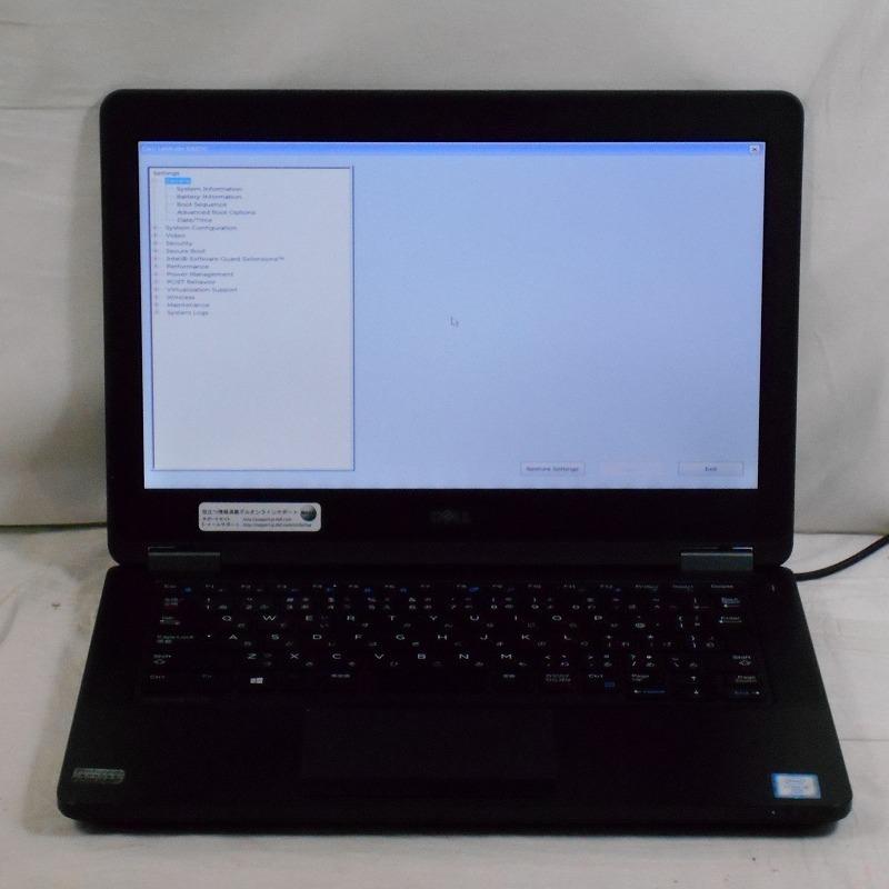 【ジャンク】1円~DELL Latitude E5270/Corei5 6300U 2.4GHz/4GB/HDD500GB/12.5インチ/OS