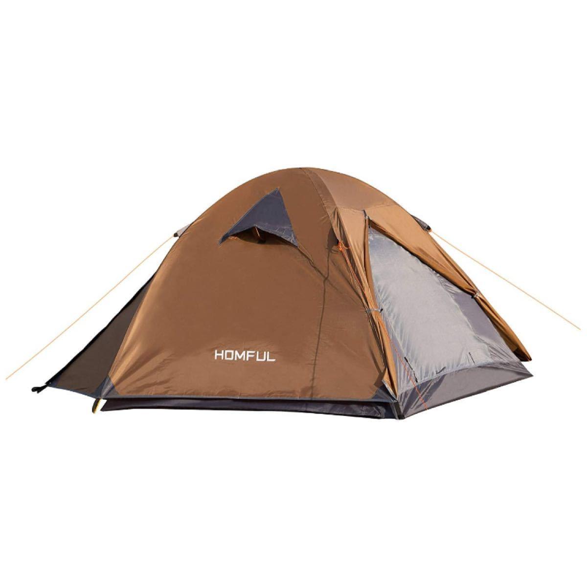 キャンプテント2人用 設営簡単 防災用 キャンプ用品 登山 折りたたみ 超軽量