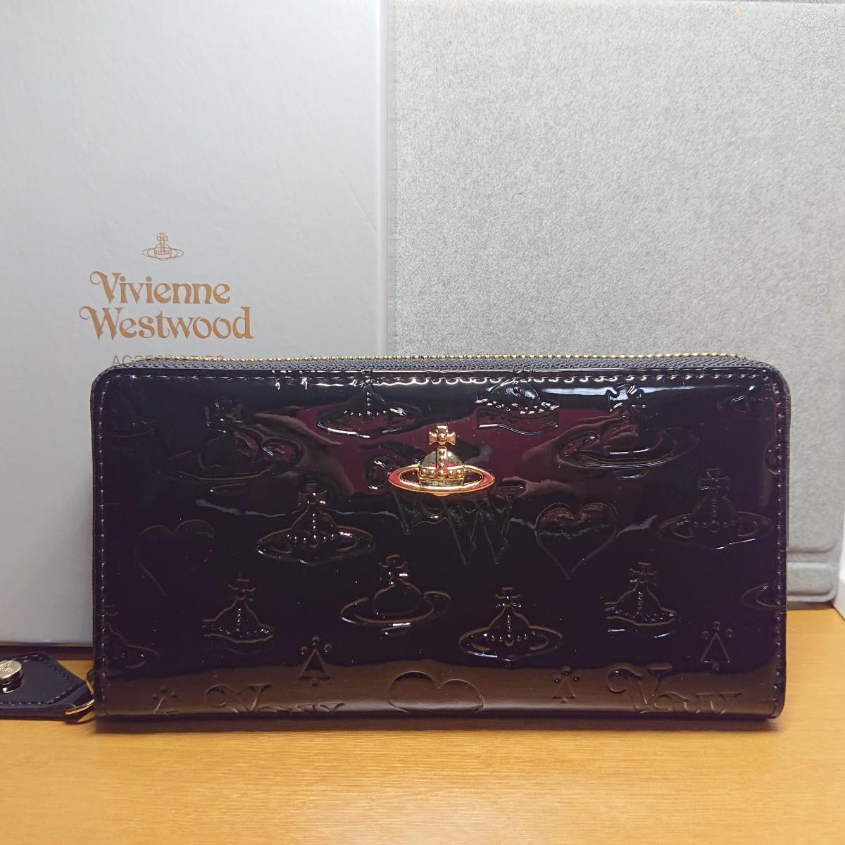 【最終値下げ】Vivienne Westwood 長財布 ヴィヴィアンウエストウッド 黒