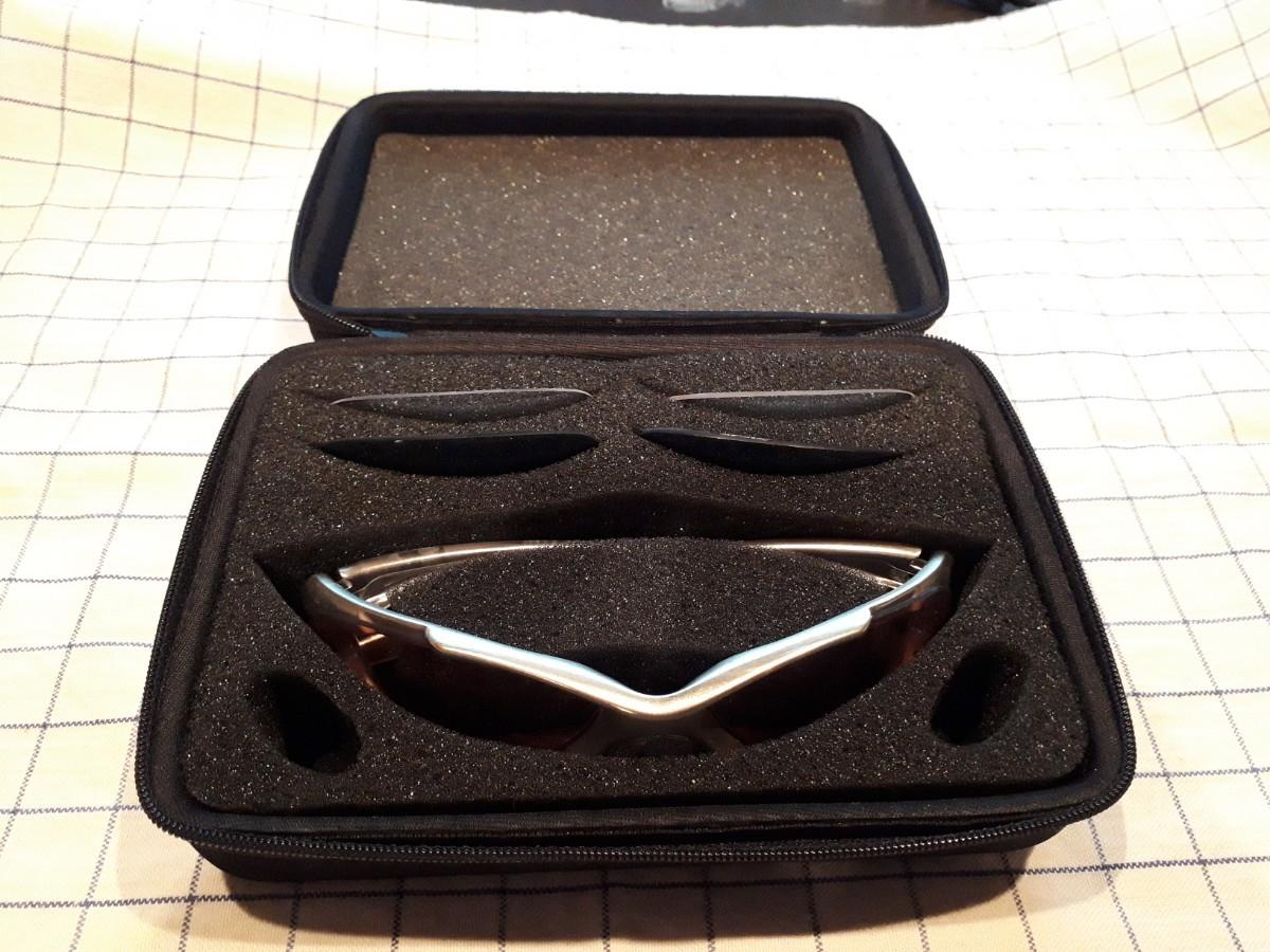 スポーツサングラス レンズ入れ替え可能