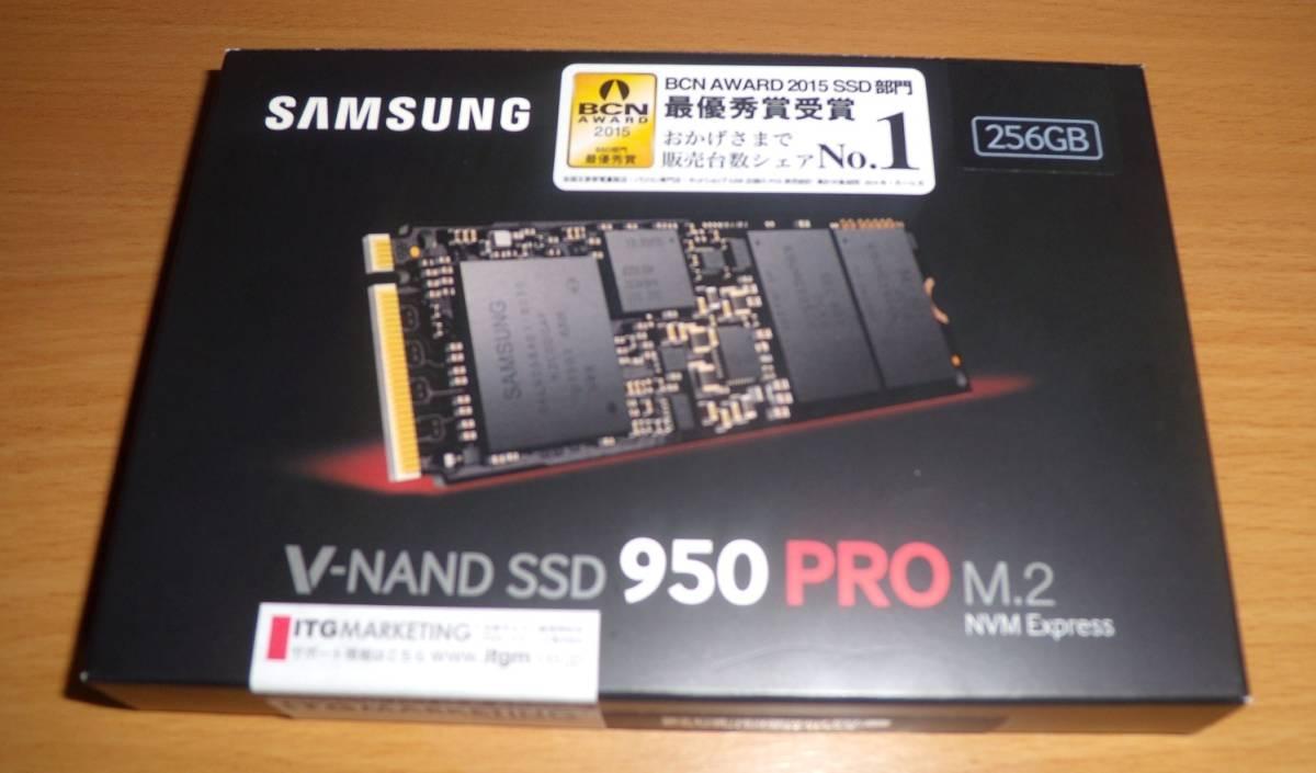 SAMSUNG SSD 950PRO 256GB M.2 PCIe V-NAND