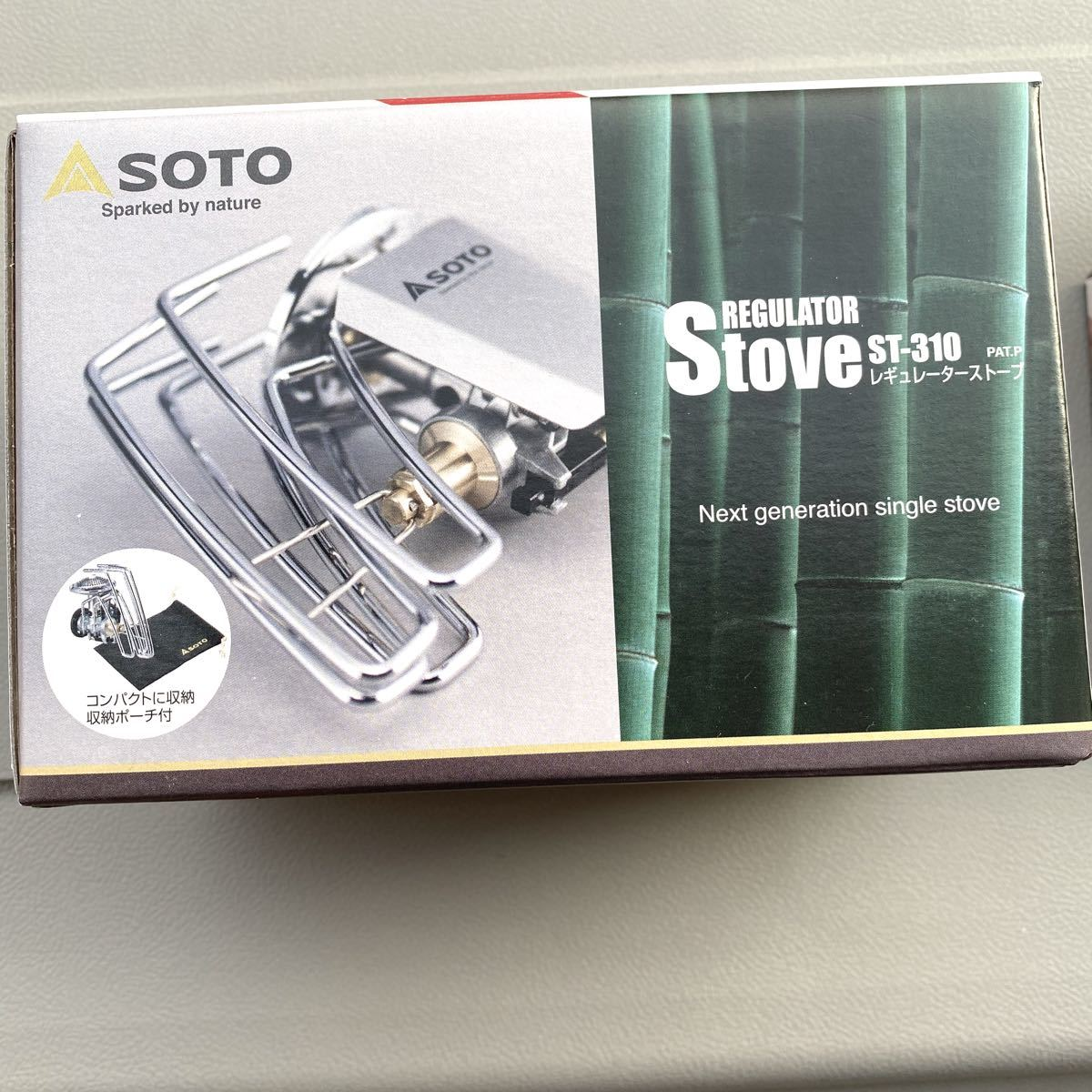 SOTO レギュレーターストーブ ST-310 新富士バーナー 新品未開封