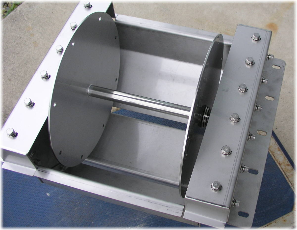 「オートイカリ AI-EIM埋込型 DC12V/375W/40A 24Vに変更可 アンカーウインチ アンカーリール オートアンカー」の画像2