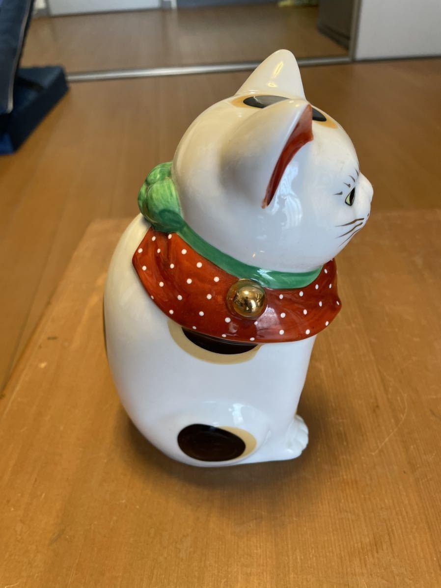 招き猫 陶器人形 _画像3
