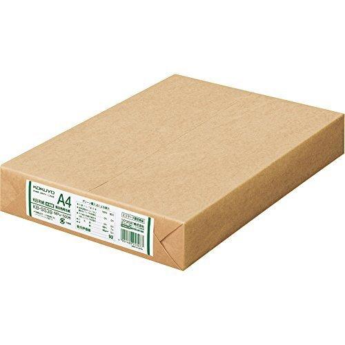 サイズA4 コクヨ コピー用紙 A4 低白色再生紙 500枚 PPC用紙 共用紙 KB-SS39_画像1