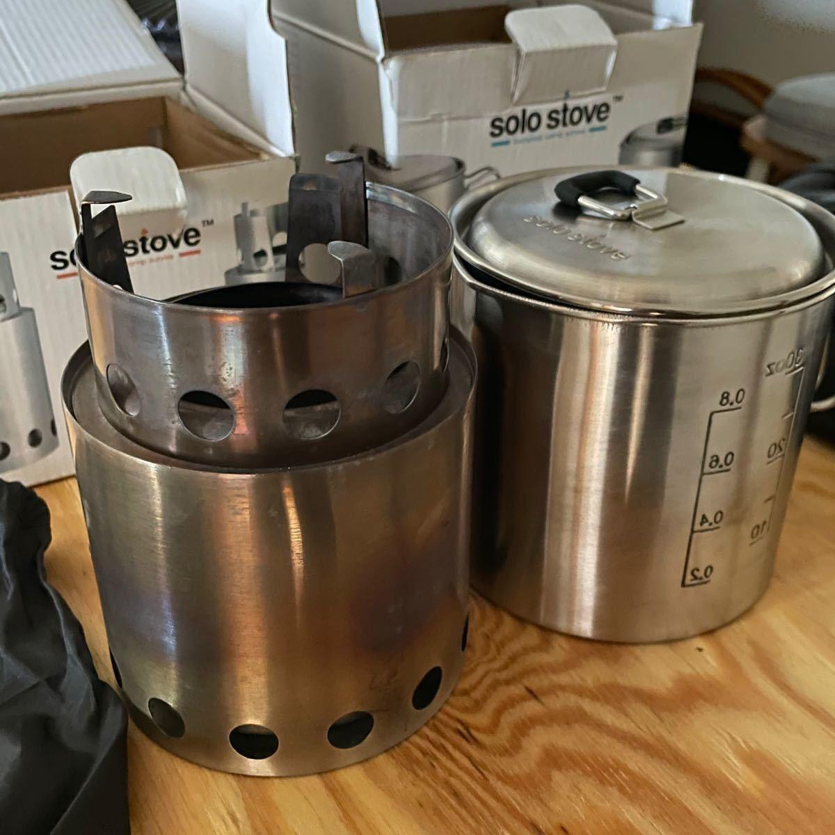 ソロストーブ Solo STOVE 焚き火台 pot900 セット ポット