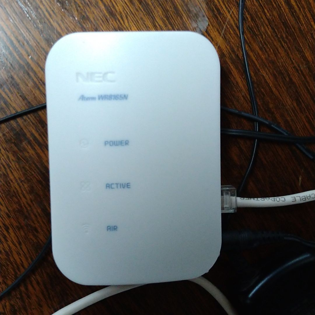 WiFiルーター NEC Wi-Fi 無線LANルータ