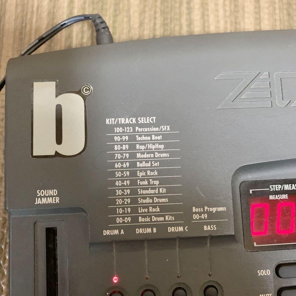 (あ-712)★☆Zoom RhythmTrak 234 ズーム ドラムマシン 通電のみ確認 中古現状品_画像3