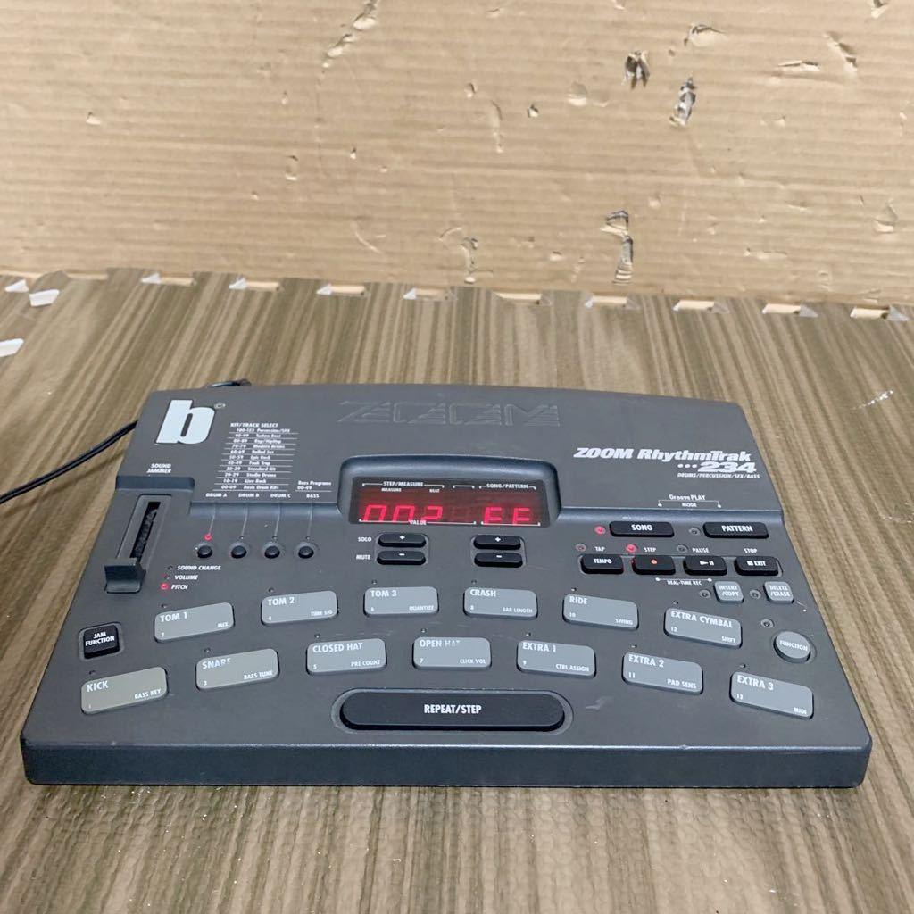 (あ-712)★☆Zoom RhythmTrak 234 ズーム ドラムマシン 通電のみ確認 中古現状品_画像5