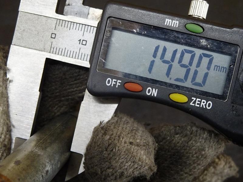 【210414】TW225E(DG09J-012)◇ フロントアクスルシャフト ※検:DG07J 2JL TW200_画像9