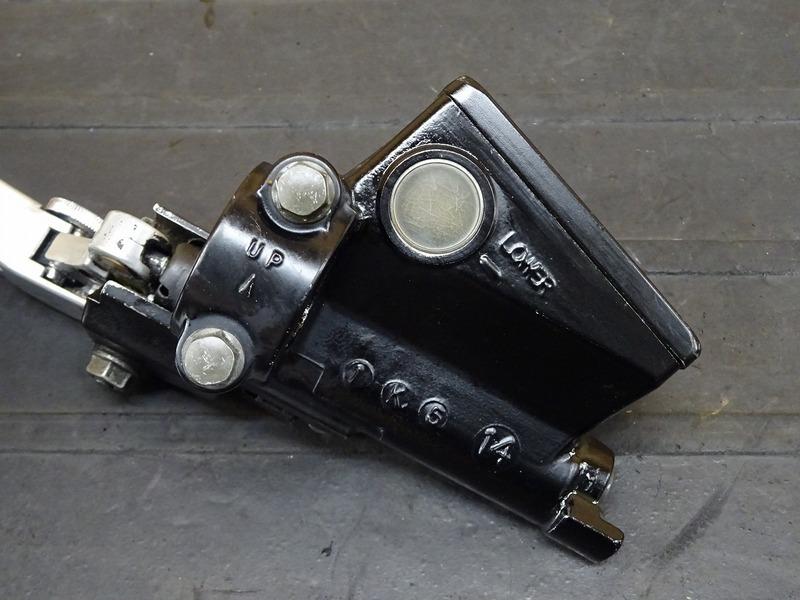 【210427】GSX1300R '02■ クラッチマスターシリンダー Φ14 クラッチレバー 【GW71A '99-'07 K2 ハヤブサ 隼_画像4
