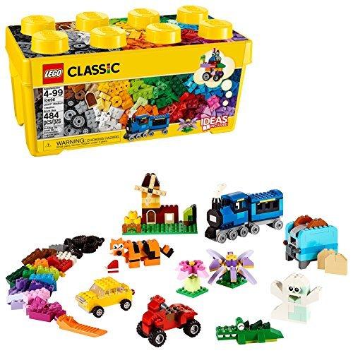 レゴ (LEGO) クラシック 黄色のアイデアボックス プラス 10696 35色のブロックセット 4歳以上の全ての男の子女の子_画像10