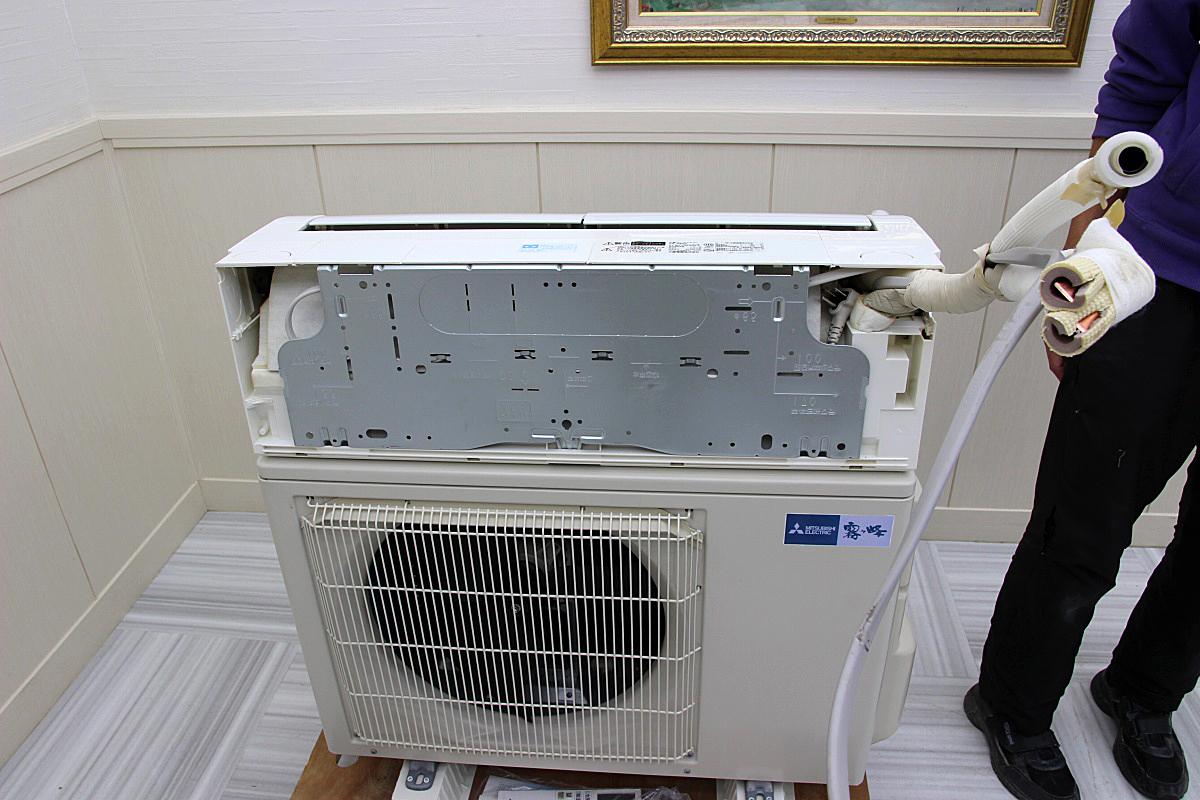 三菱電機 18年製 超美品!ルームエアコン 単相200V 5.6kw 20畳 家庭用 上位機種 霧ヶ峰 ハイパワー 大型 MSZ-EX5618E6S_画像3