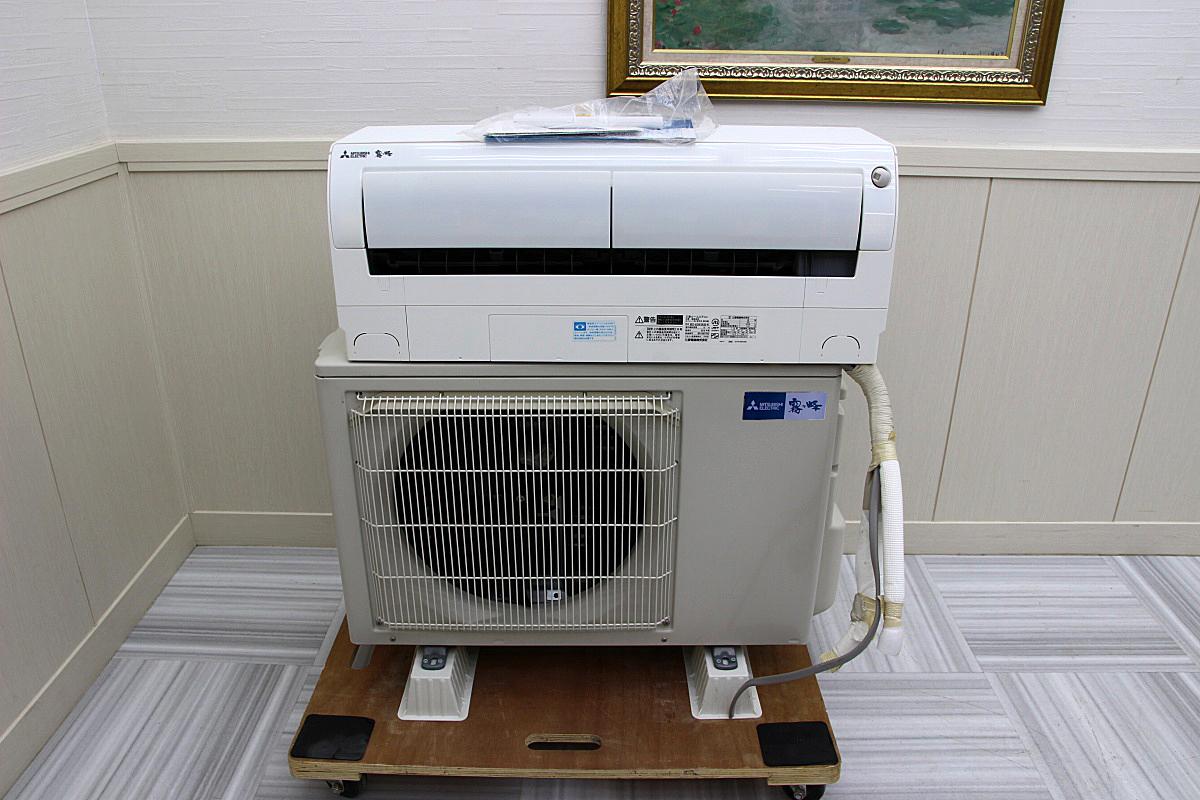 三菱電機 18年製 超美品!ルームエアコン 単相200V 5.6kw 20畳 家庭用 上位機種 霧ヶ峰 ハイパワー 大型 MSZ-EX5618E6S_画像1