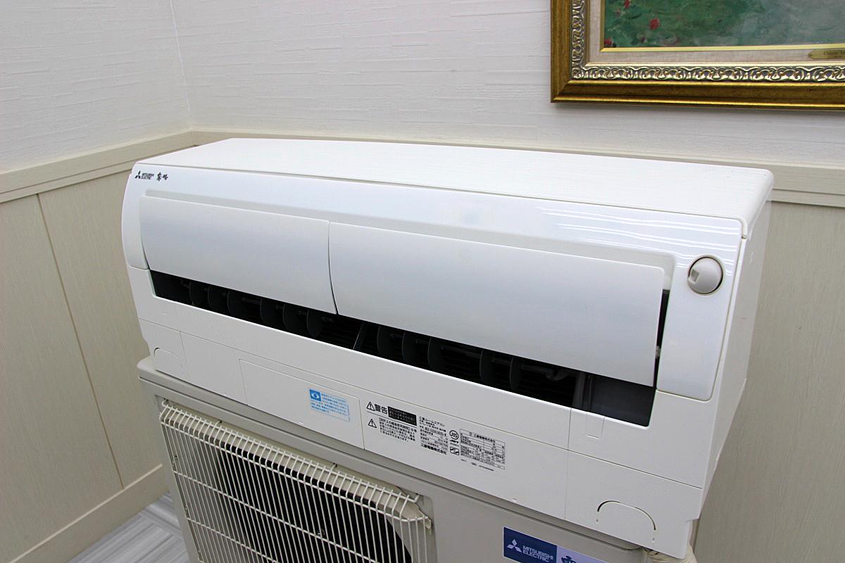三菱電機 18年製 超美品!ルームエアコン 単相200V 5.6kw 20畳 家庭用 上位機種 霧ヶ峰 ハイパワー 大型 MSZ-EX5618E6S_画像8