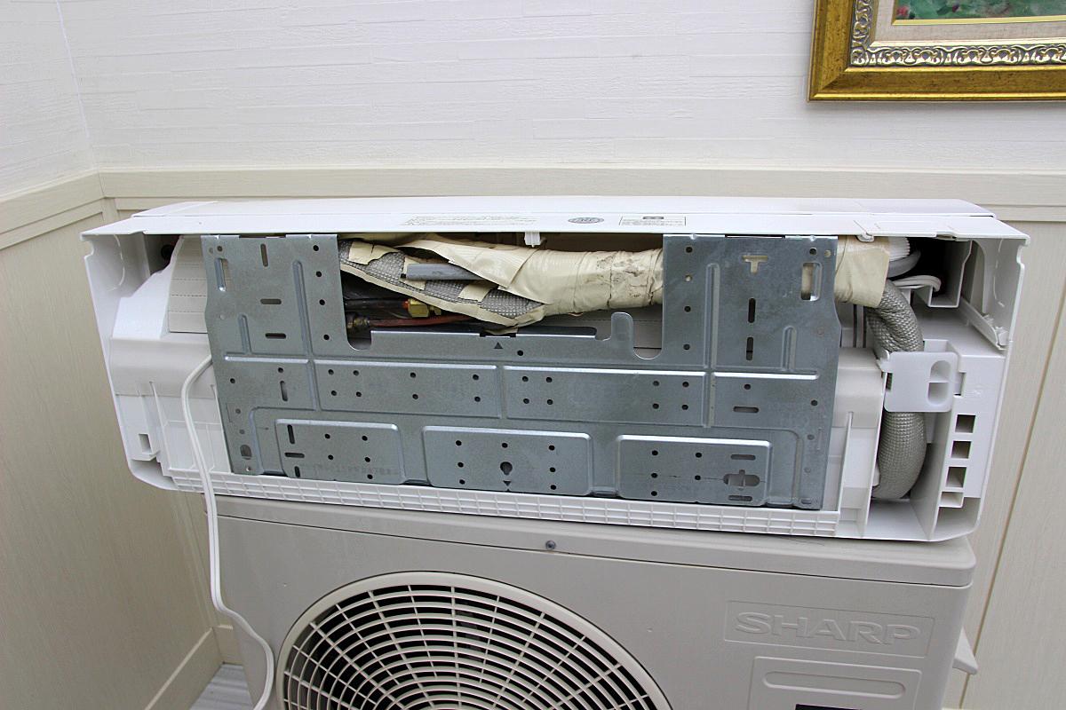 18年製 超美品!シャープSHARP ルームエアコン 家庭用 100V 4.0kw 16畳 動作保証 中古 電気工事不要 AY-G40H_画像3