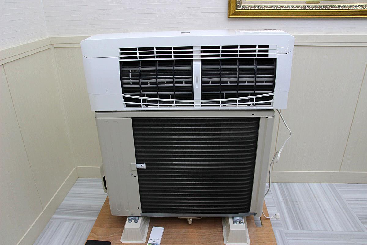 18年製 超美品!シャープSHARP ルームエアコン 家庭用 100V 4.0kw 16畳 動作保証 中古 電気工事不要 AY-G40H_画像2