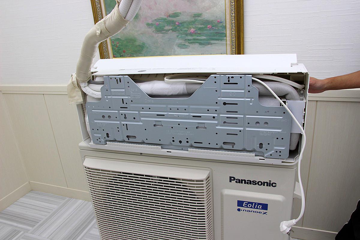 19年製 超美品!パナソニックPanasonic 最上位機種 Eoliaエオリア ルームエアコン 単相200V 5.6kw ハイパワー 大型 20畳 CS-56HV2E6_画像3