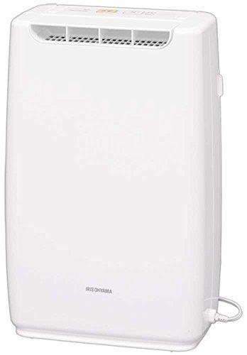 ホワイト ホワイト アイリスオーヤマ 衣類乾燥コンパクト除湿機 タイマー付 静音設計 除湿量 2.0L デシカント方式 DDB_画像1