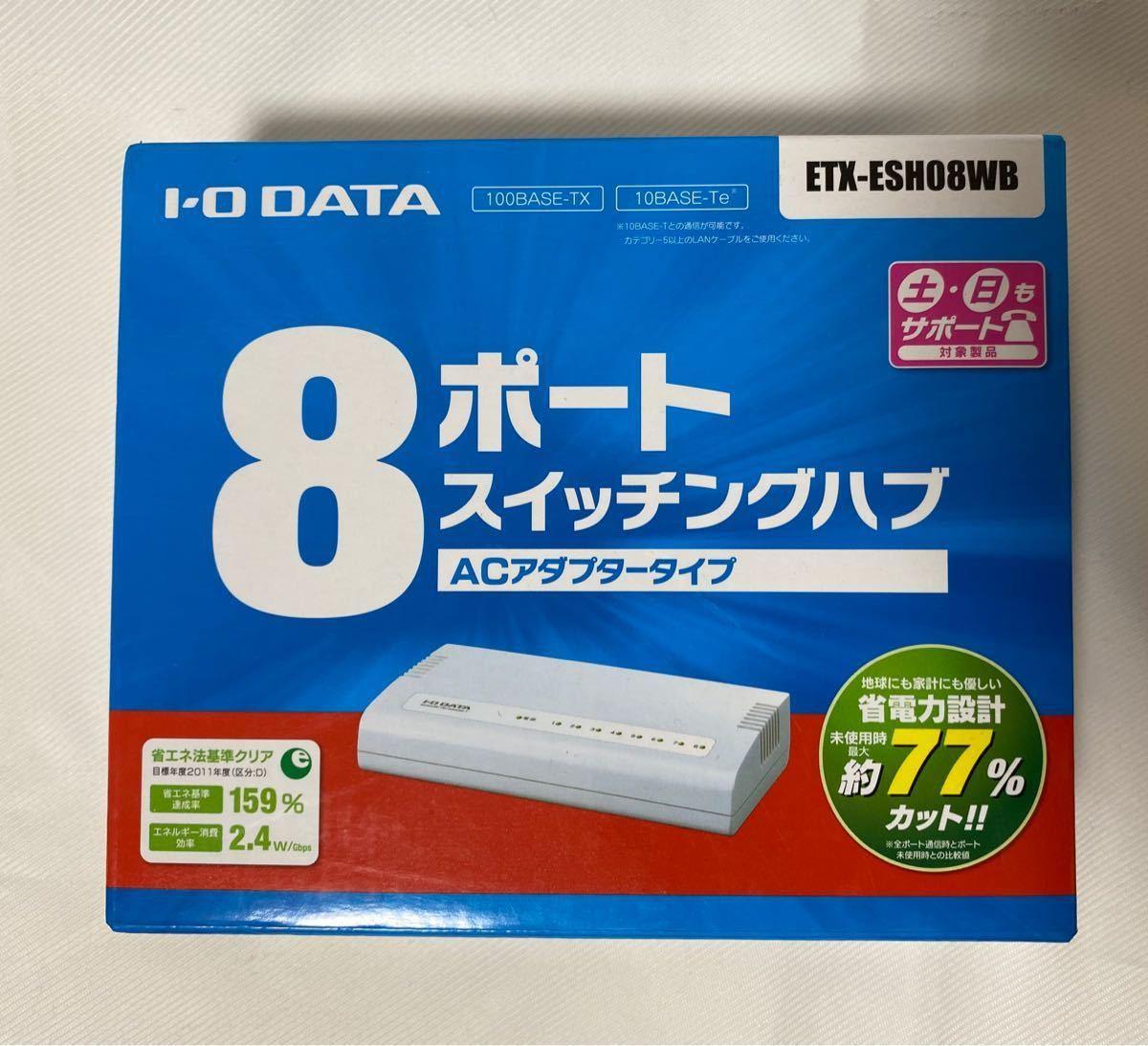 I・O DATA ETX-ESH08WB