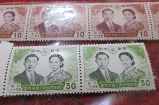 皇室関係切手セット_画像4