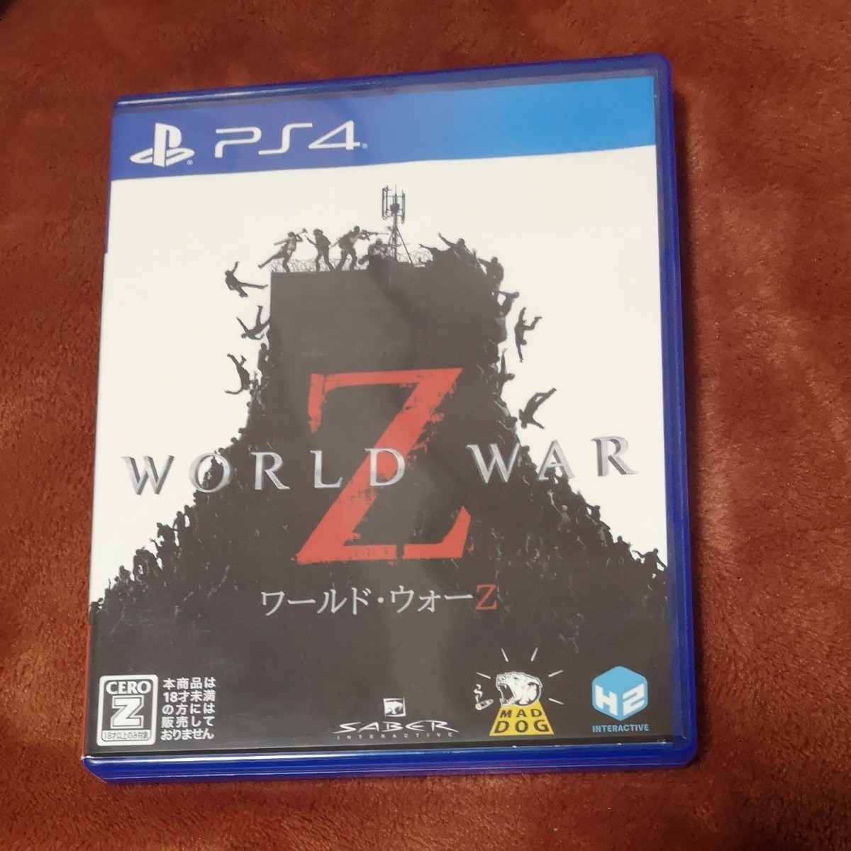 【PS4】 WORLD WAR Z PS4 ワールドウォーZ PS4ソフト