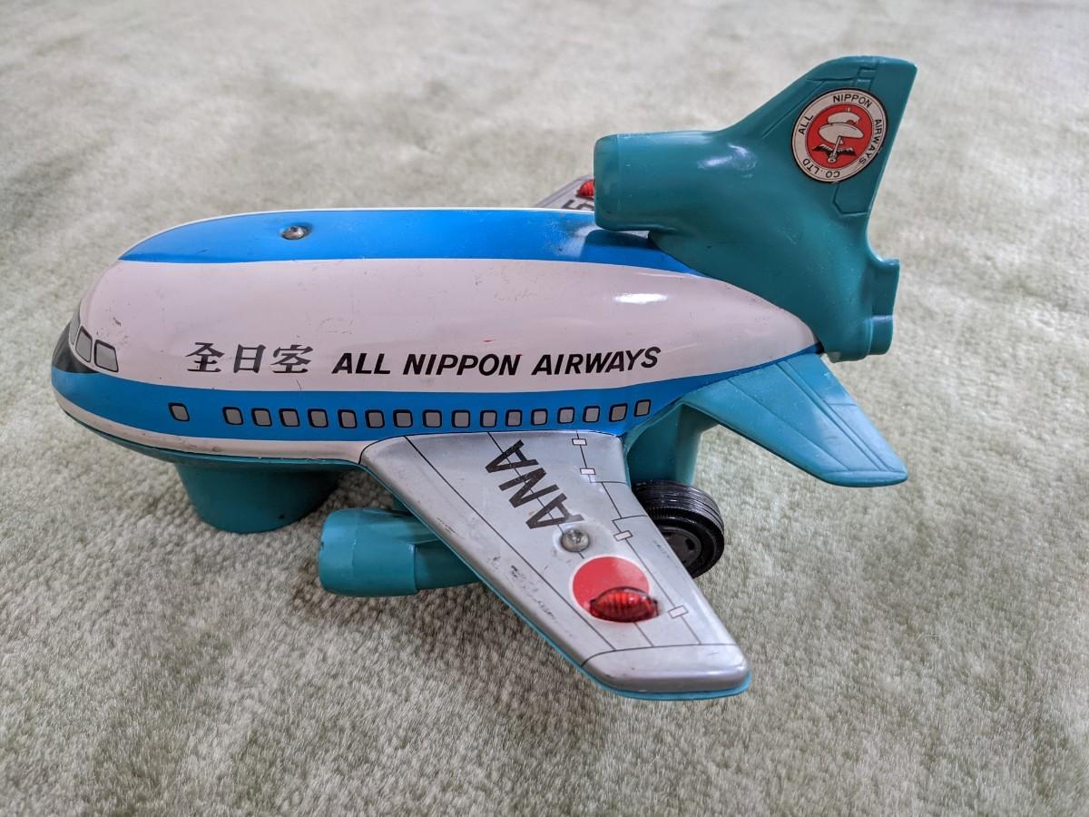 全日空 ANA JA8501 昭和おもちゃ 昭和レトロ ブリキ製 ヴィンテージ 昭和レトロ