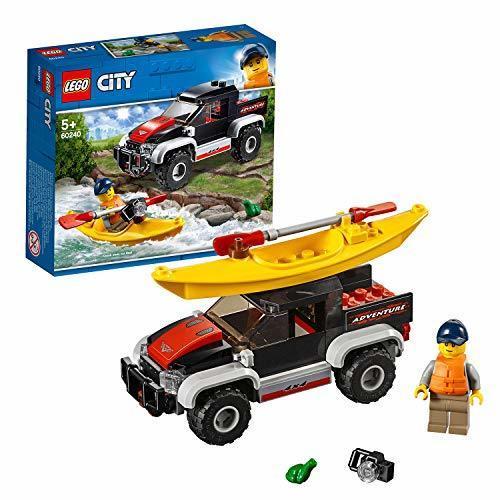 新品未使用・レゴ(LEGO) シティ カヤックとオフロードカー 60240 ブロック おもちゃ 男の子 車_画像1