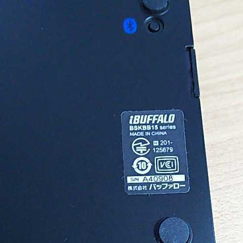 bluetoothキーボード BUFFALO BSKBB15